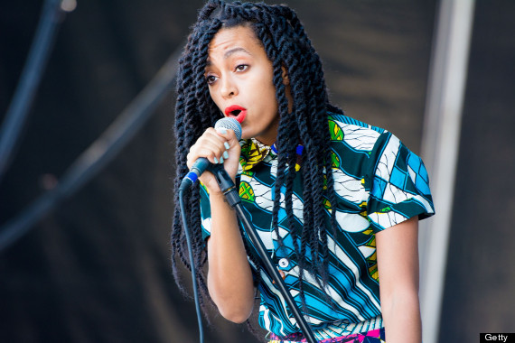 PHILADELPHIA, PA - JUNE 1: Solange Knowles performs at the 6th Annual Roots Picnic at the Festival Pier June 1, 2013 in Philadelphia, Pennsylvania. (Photo by Jeff Fusco/Getty Images)